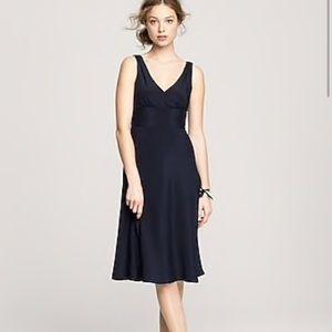 J Crew Sophia Silk Dress